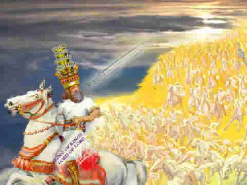 revelation chapter 19 armies of heaven rider white horse sword of the spirit, word of god, judgment on the nations, kings of the earth, beast and the false prophet